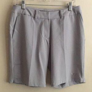 NWOT Nike Golf Dri-Fit Stay Cool Shorts. Grey.